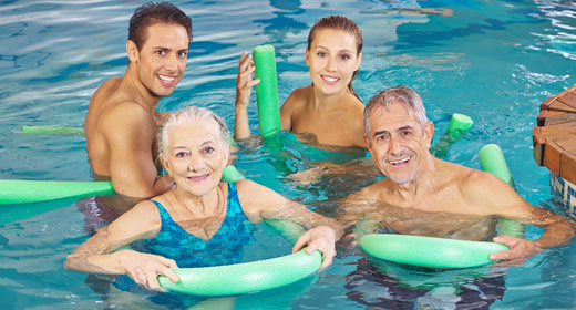 Aquafitness für Jedermann