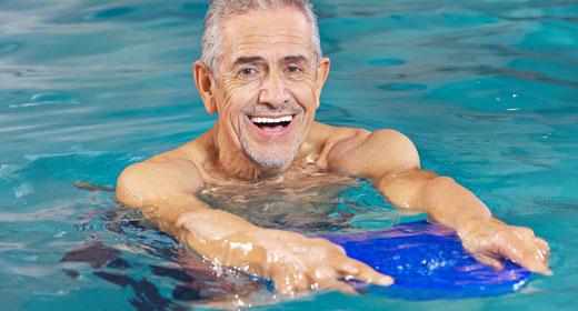 Aquafitness für Rentner
